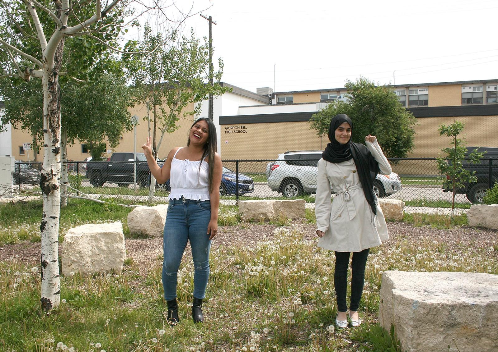 Valedictorians - Gordon Bell - Deisy Gomez & Isra Alshareh.jpg